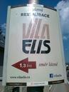 ukázka reklamního panelu Horizont - Vila Elis