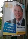ukázka reklamního panelu Horizont - KDU ČSL
