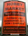 ukázka reklamního panelu Horizont - Hobby Market