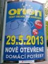 ukázka reklamního panelu Horizont - Orion